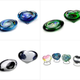 Urnen van glas