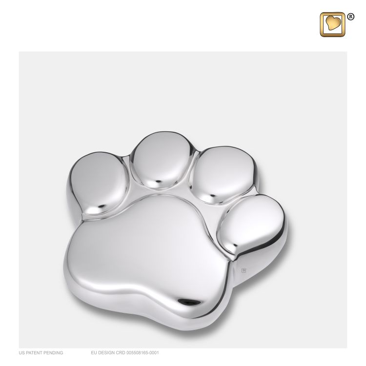 P670K-hondenpoot-glimmend-zilver