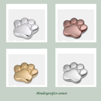hondepootjes urnen