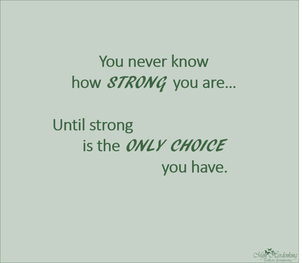 how strong are you